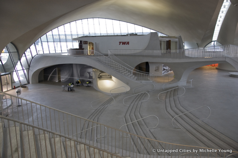 Behind the scenes at the twa flight center at jfk airport for Jfk airport hotel inside terminal