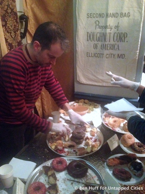 Donut exhibit City Reliquary Williamsburg Brooklyn NYC tasting Untapped Cities