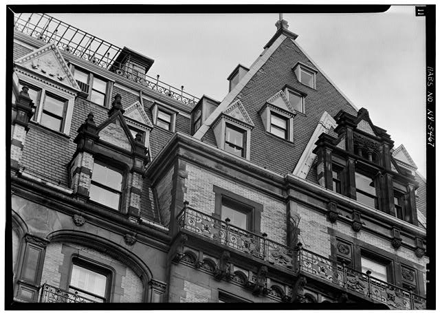 Dakota apartments windows NYC Vintage photography Untapped Cities Sabrina Romano
