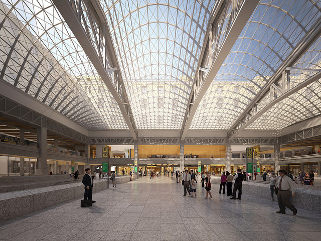 New Plans and Visionary Renderings For NYC's Penn Station Renovation_Farley Post Office Amtrak Station 2_Untapped Cities_NYC_Stephanie Geier