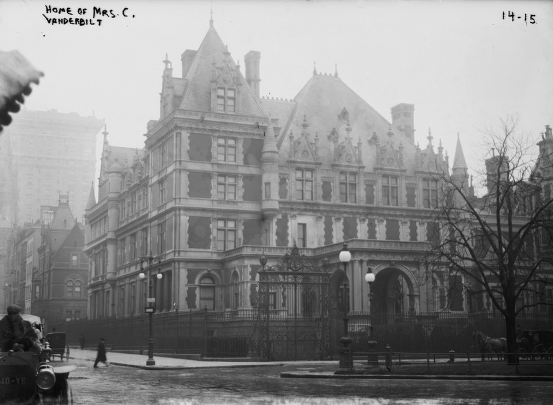 Cornelius Vanderbilt II Mansion-Fifth Avenue-House-Gilded Age-NYC