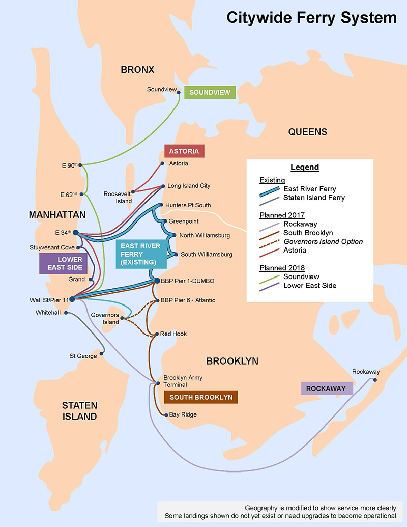 Five Borough Ferry-Map-Updated-2015-Hornblower-NYC