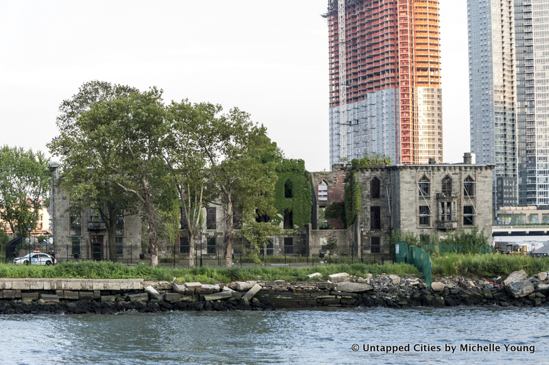 James Renwick-Smallpox Hospital-Castle-Roosevelt Island-Landmarked Ruin-NYC