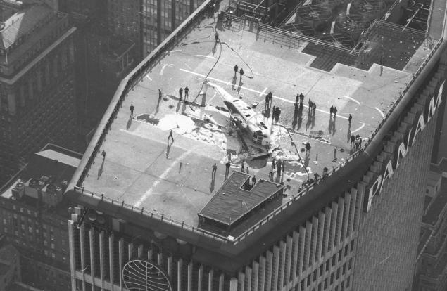 Pan Am Building-Helipad-1977 Accident-NYC